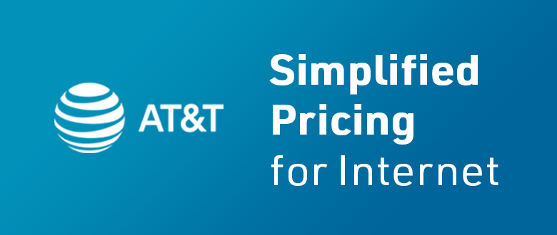 AT&T Everyday Simplified Pricing on AT&T Internet