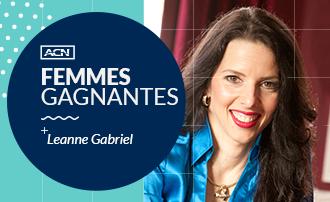 Femmes gagnantes d'ACN : Leanne Gabriel
