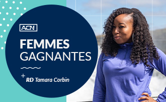 Femmes gagnantes d'ACN : Tamara Corbin