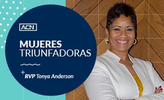 #MujeresTriunfadorasdeACN: RVP Tonya Anderson