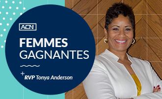 Femmes gagnantes d'ACN : RVP Tonya Anderson
