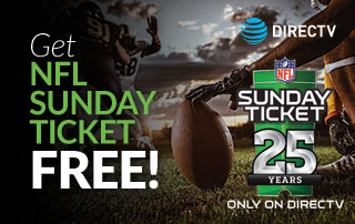 Get the 2019 NFL Sunday Ticket Max for FREE!