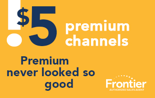 Get Premium Channels For Only $5 ea./month!