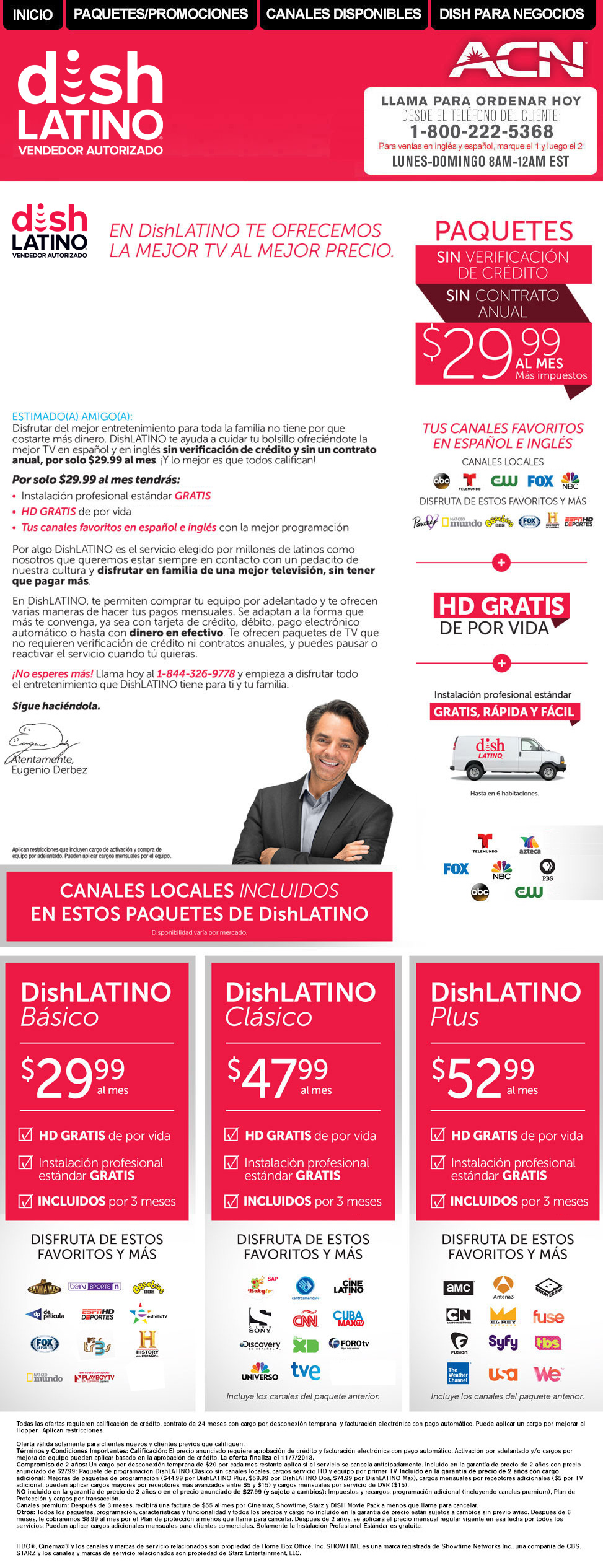 DISH Latino | 1-800-222-5368