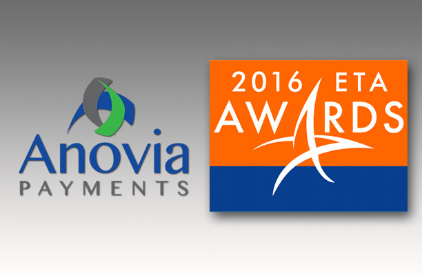 Anovia Payments Named ISO of the Year