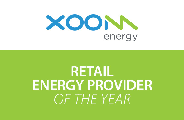 XOOM Energy Recognized as the 2016 Retail Energy Provider of the Year